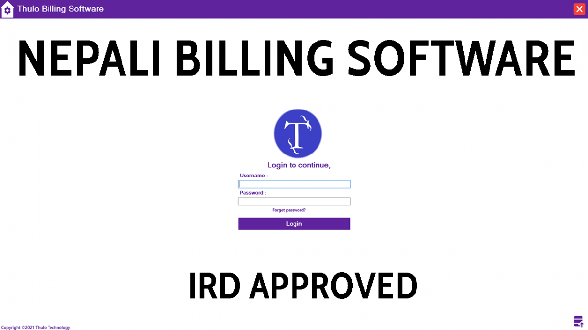 IRD Verified Billing Software Nepal
